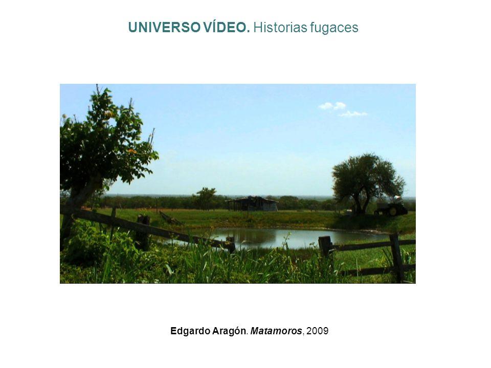 Edgardo Aragón. Matamoros, 2009 UNIVERSO VÍDEO. Historias fugaces