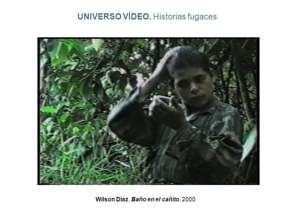 Wilson Díaz. Baño en el cañito, 2000 UNIVERSO VÍDEO. Historias fugaces