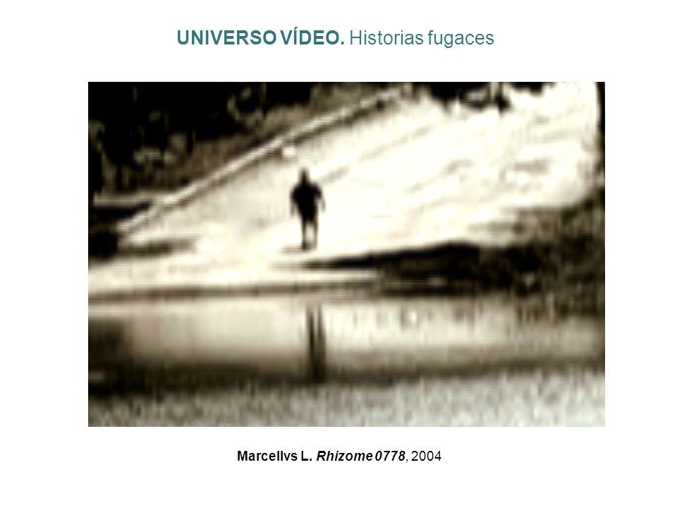 Marcellvs L. Rhizome 0778, 2004 UNIVERSO VÍDEO. Historias fugaces