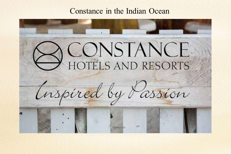 Constance in the Indian Ocean…