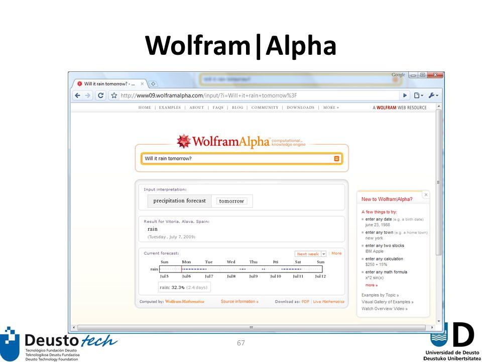 67 Wolfram|Alpha