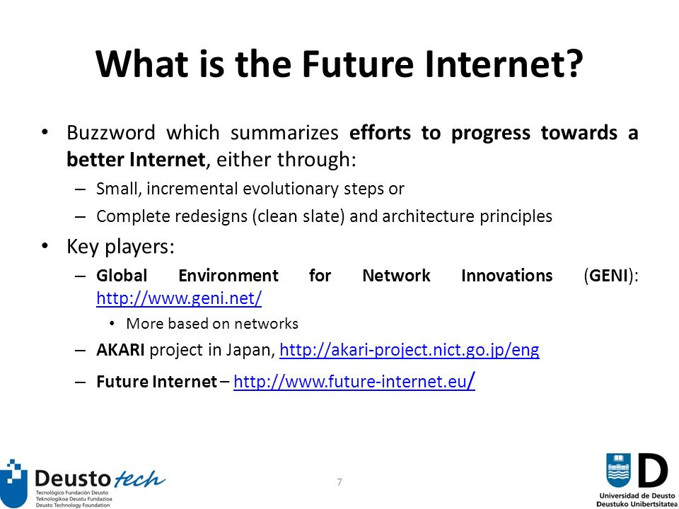 7 What is the Future Internet.
