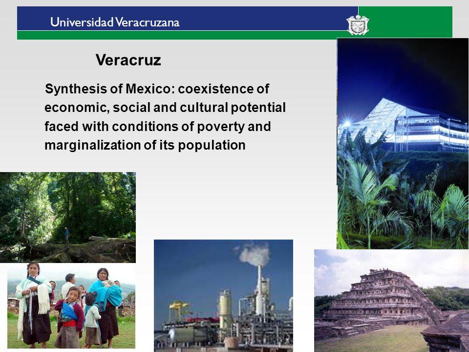 Universidad Veracruzana Presence of Universidad Veracruzana