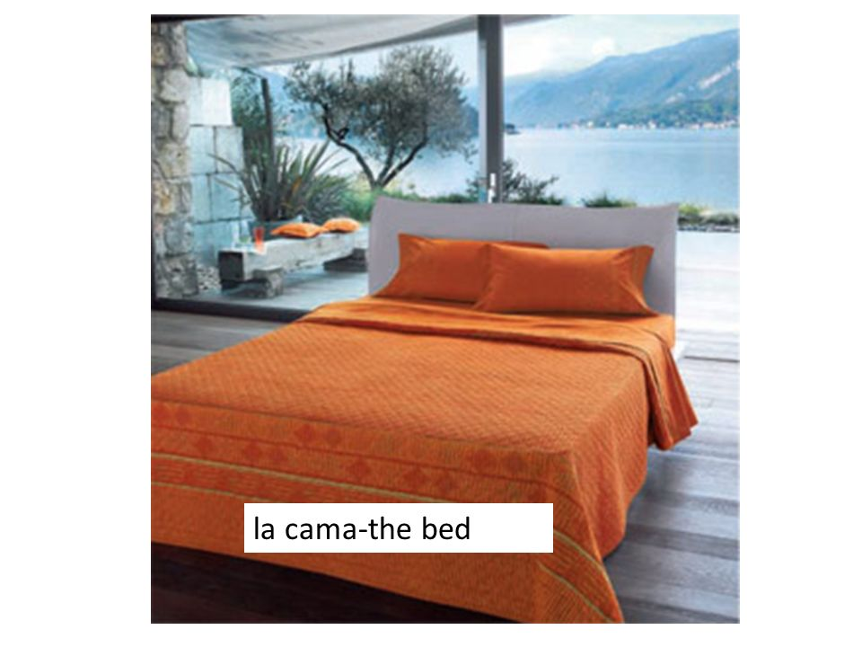 la cama-the bed