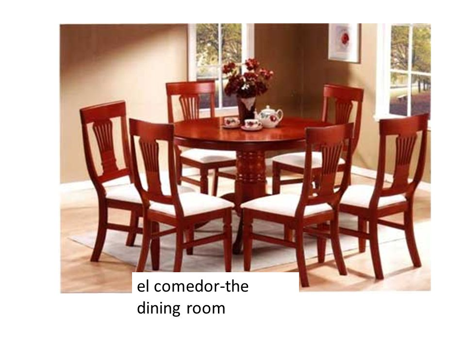 el comedor-the dining room