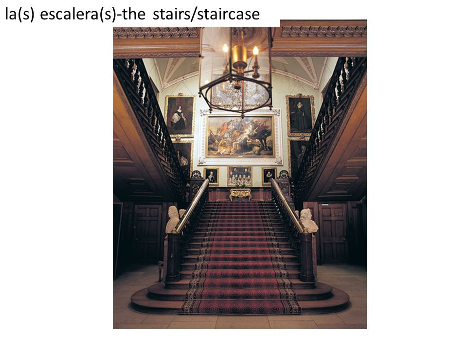 la(s) escalera(s)-the stairs/staircase