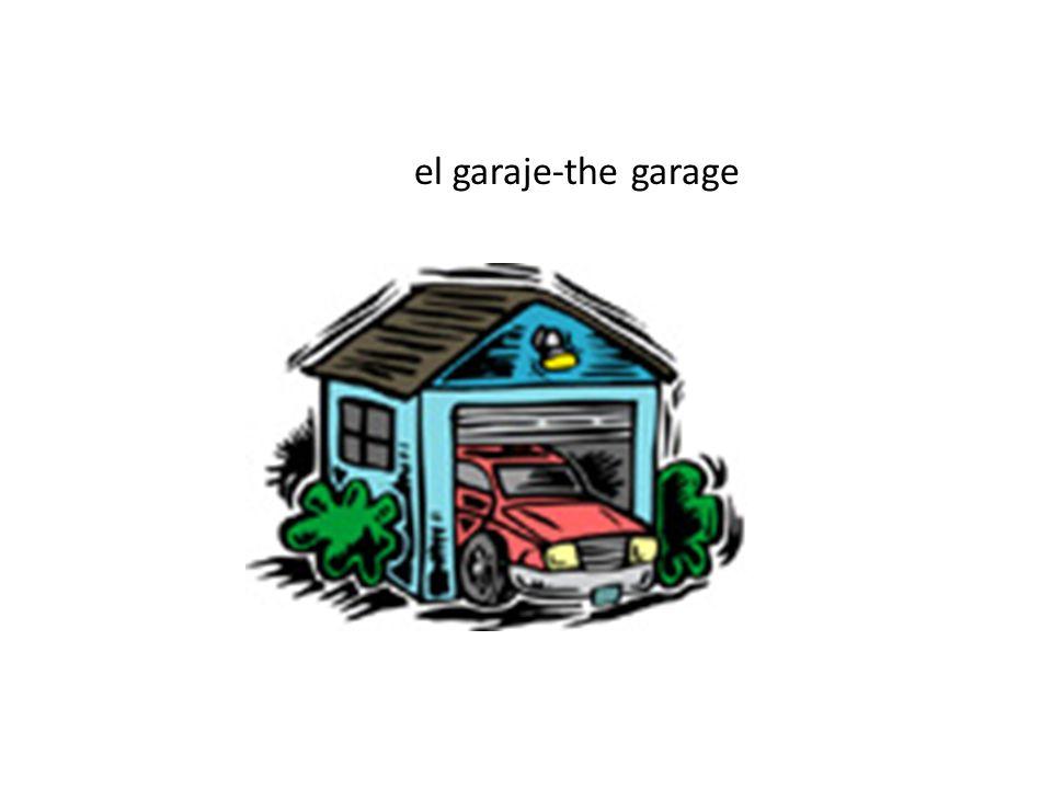 el garaje-the garage