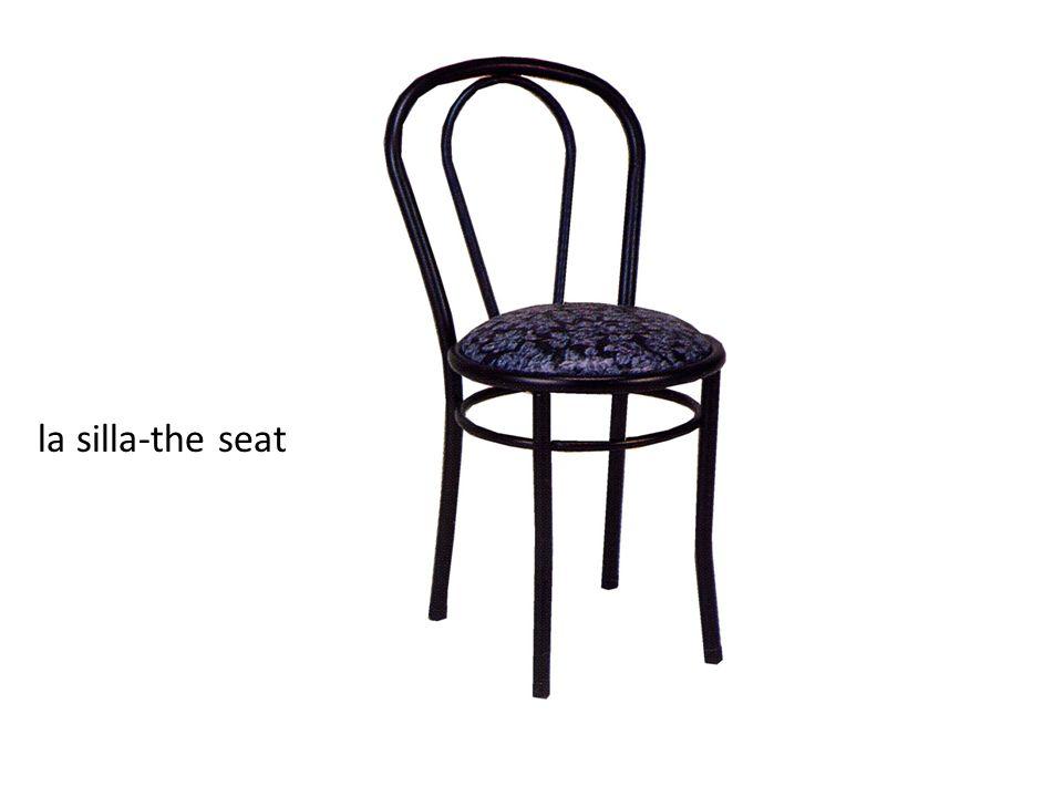 la silla-the seat