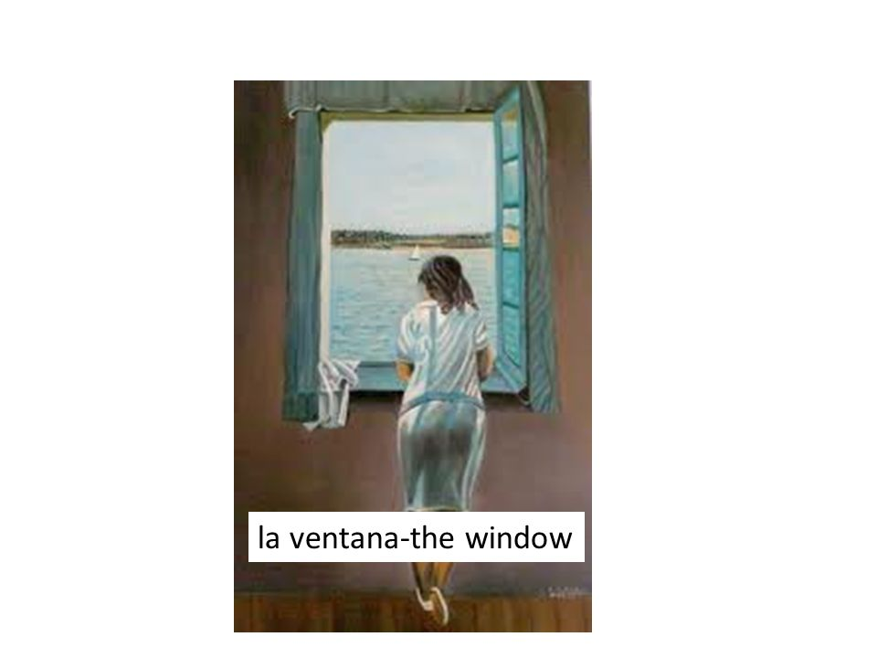 la ventana-the window
