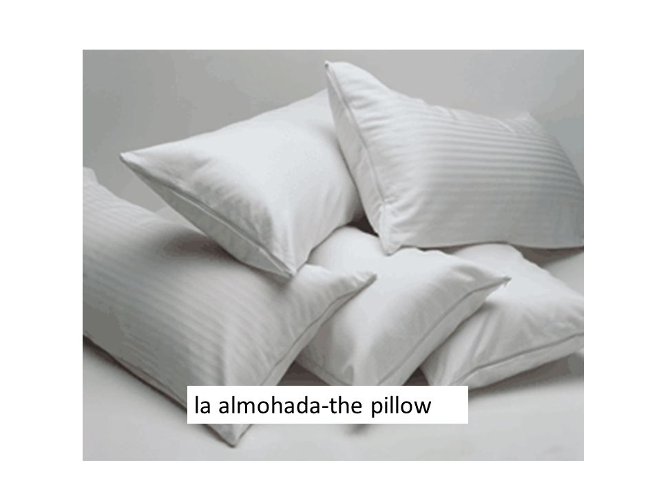 la almohada-the pillow