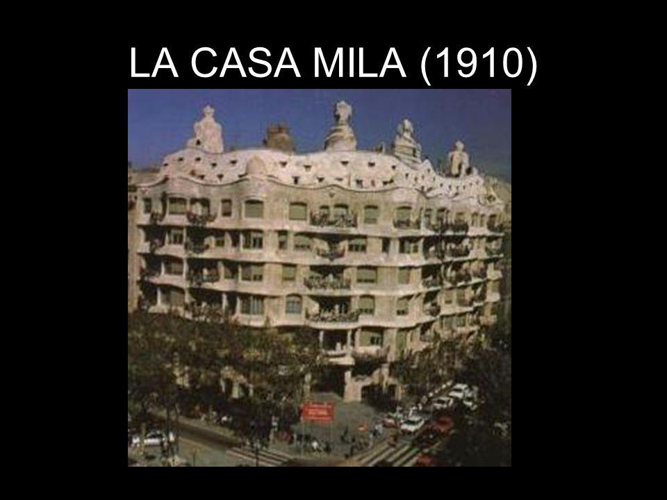 LA CASA MILA (1910)