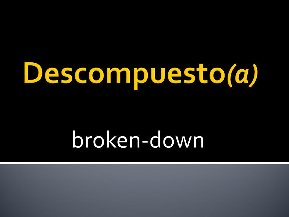 broken-down