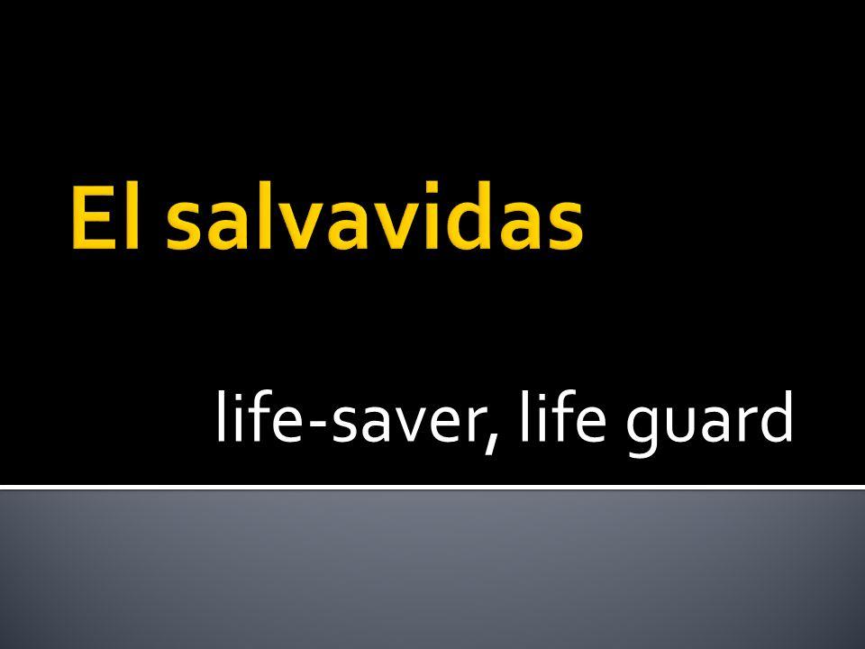 life-saver, life guard