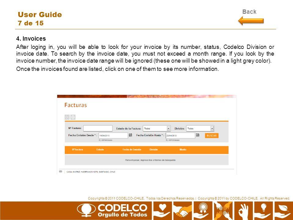 Copyrights © 2011 CODELCO-CHILE. Todos los Derechos Reservados.