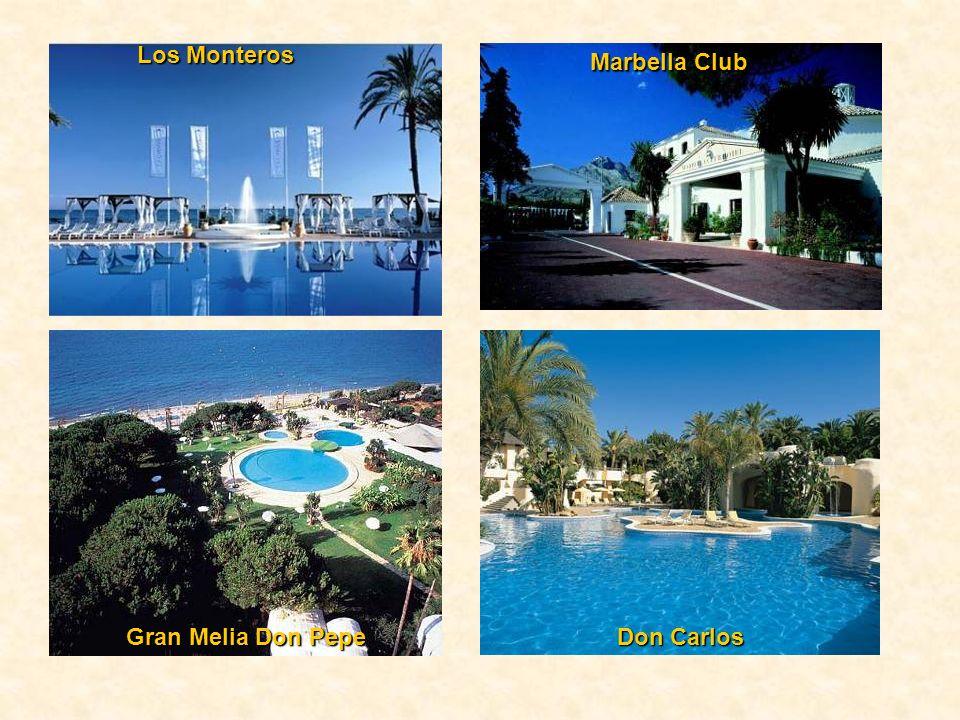 Los Monteros Marbella Club Gran Melia Don Pepe Don Carlos