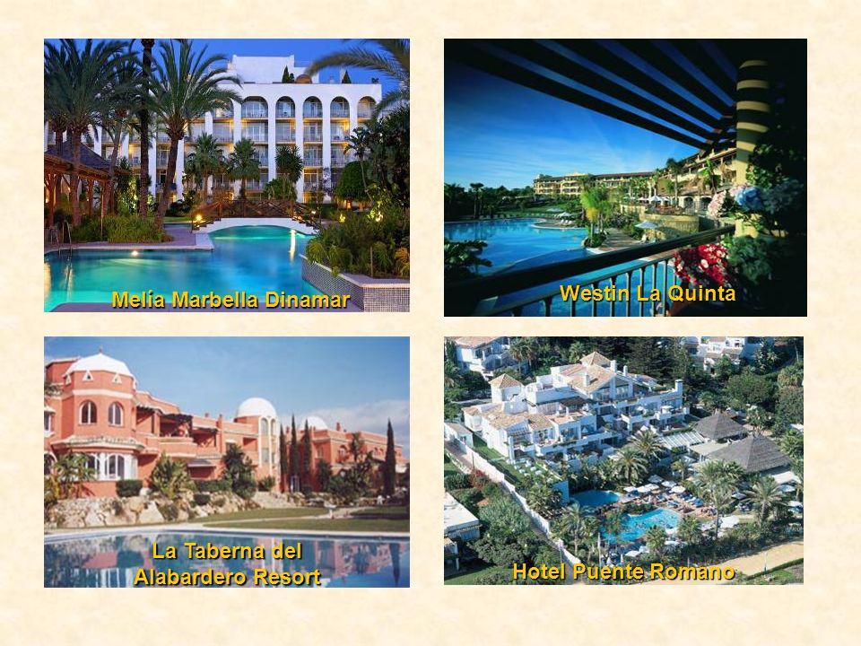 Melía Marbella Dinamar Hotel Puente Romano Westin La Quinta La Taberna del Alabardero Resort