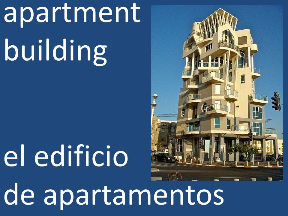 apartment building el edificio de apartamentos