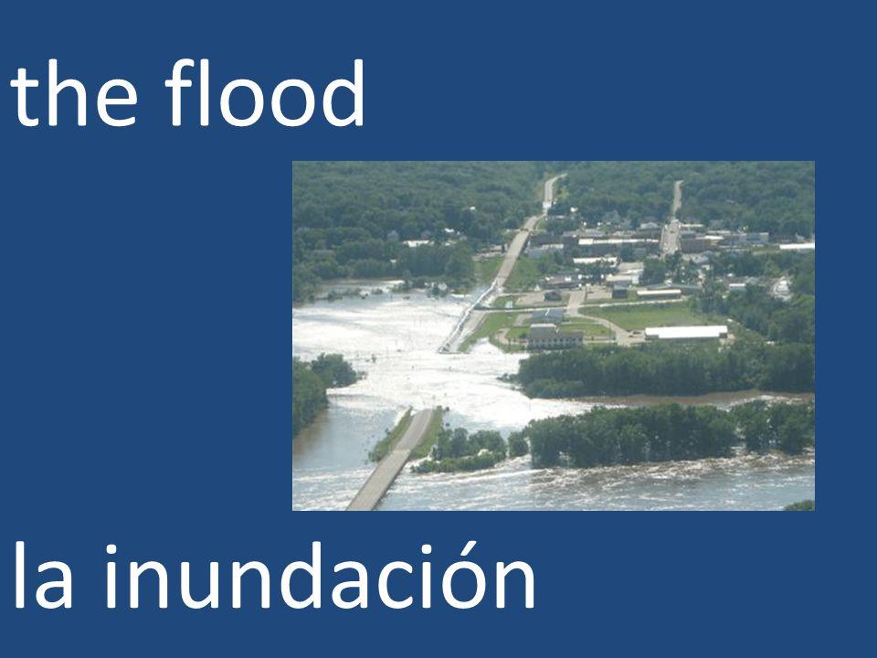 the flood la inundación