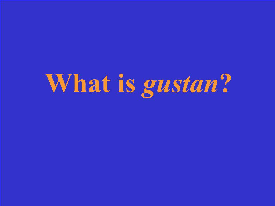 What form of gustar is used with plural nouns?
