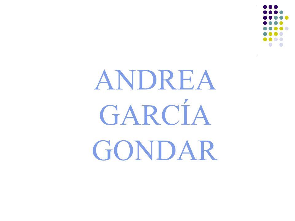 ANDREA GARCÍA GONDAR