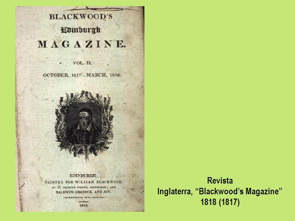 Revista Inglaterra, Blackwoods Magazine 1818 (1817)