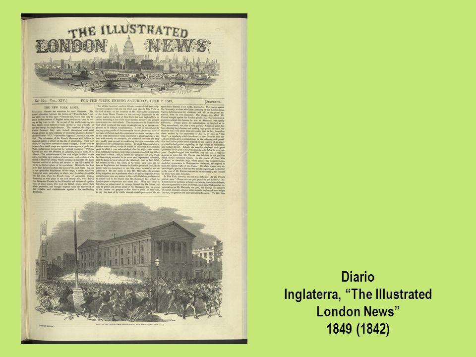 Diario Inglaterra, The Illustrated London News 1849 (1842)