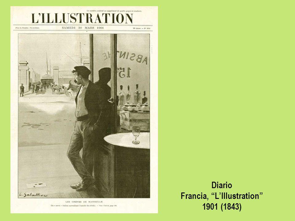 Diario Francia, LIllustration 1901 (1843)