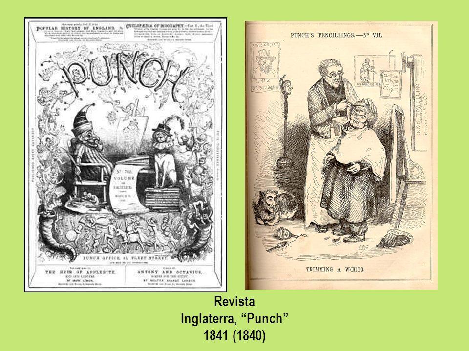 Revista Inglaterra, Punch 1841 (1840)