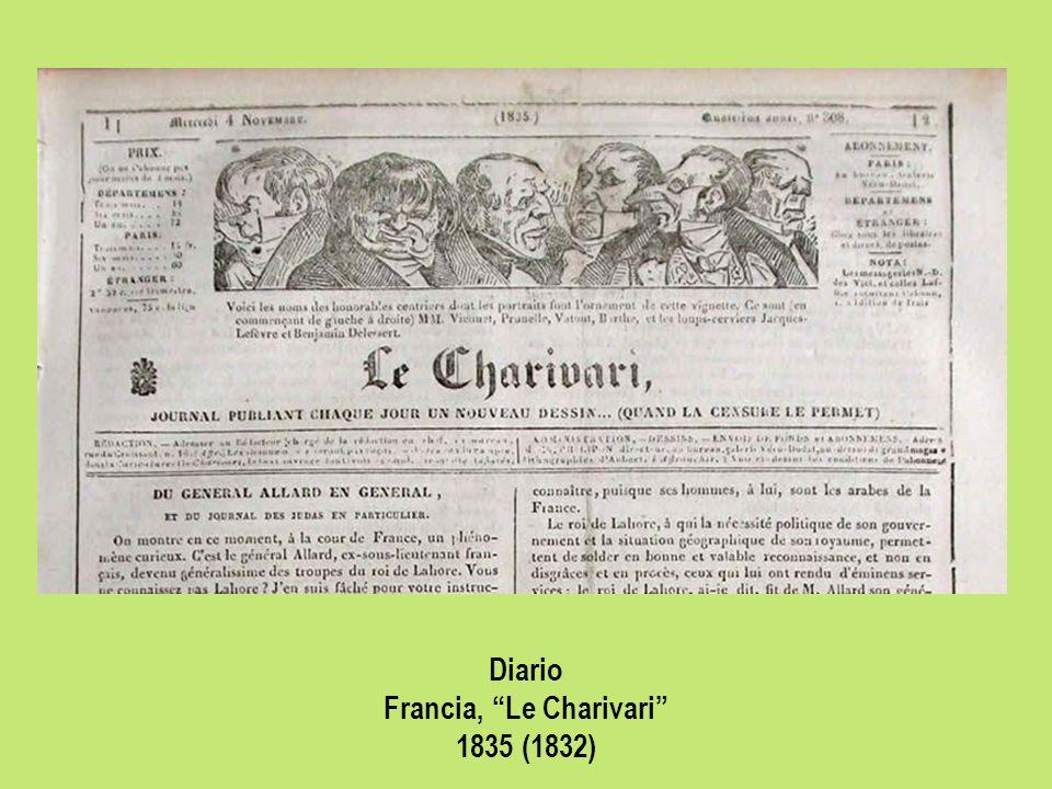 Diario Francia, Le Charivari 1835 (1832)