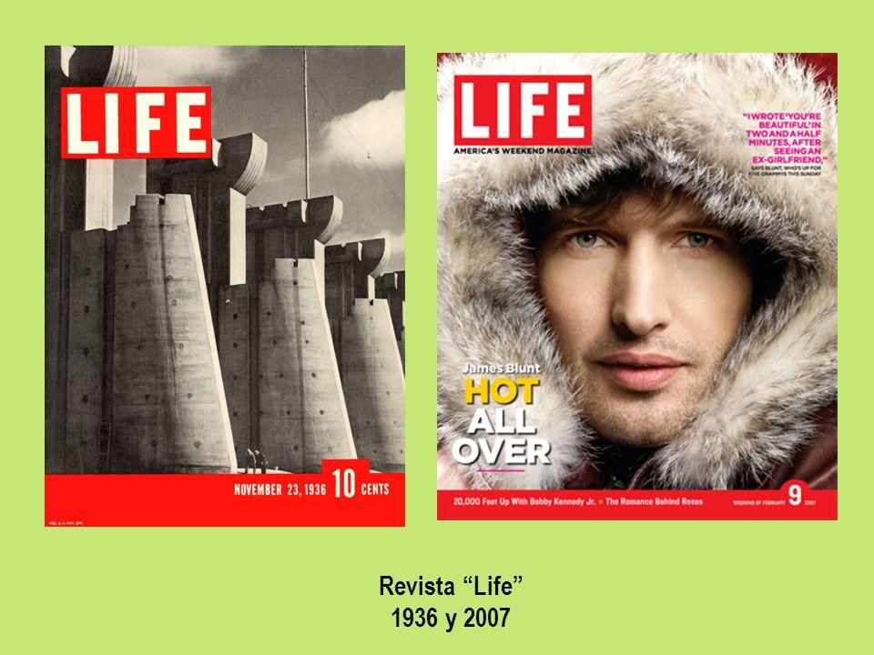 Revista Life 1936 y 2007
