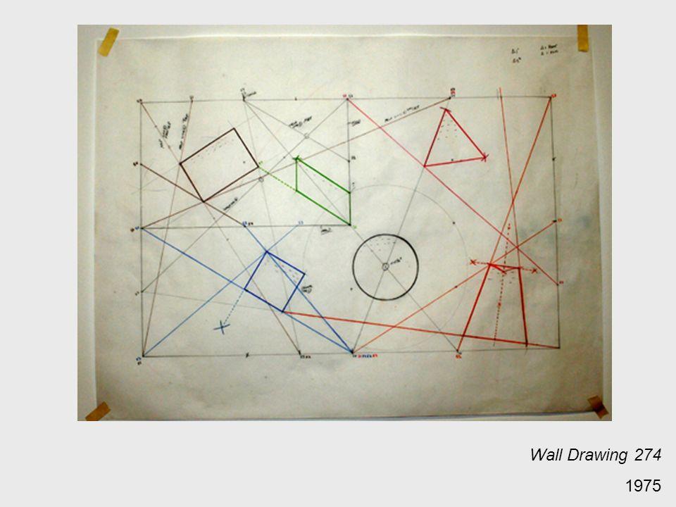 Wall Drawing 274 1975