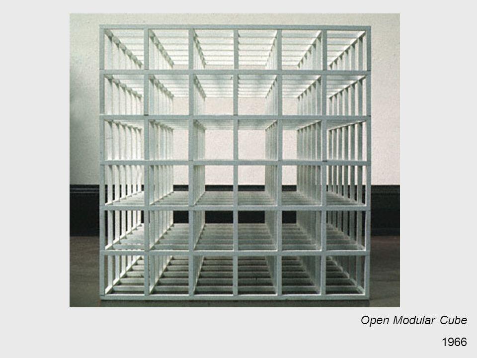 Open Modular Cube 1966