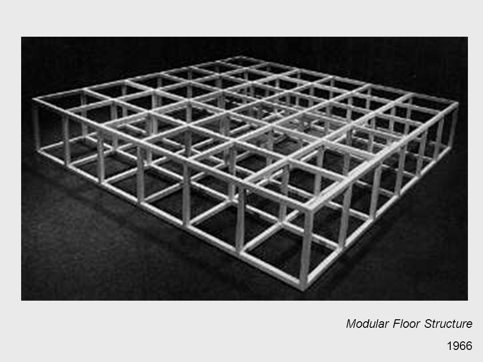 Modular Floor Structure 1966