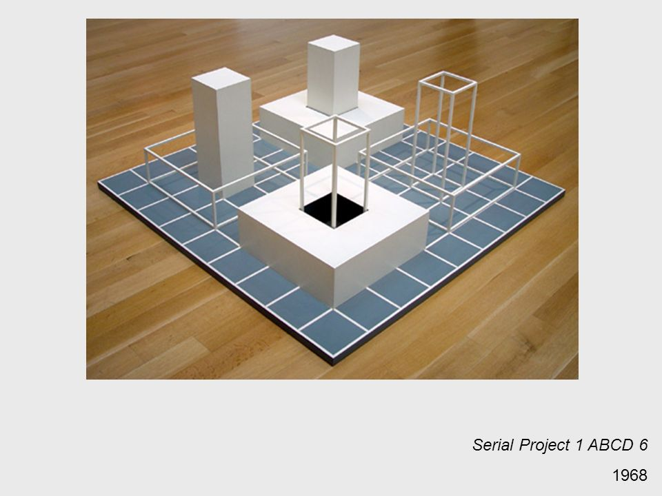 Serial Project 1 ABCD 6 1968
