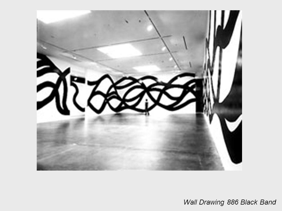 Wall Drawing 886 Black Band