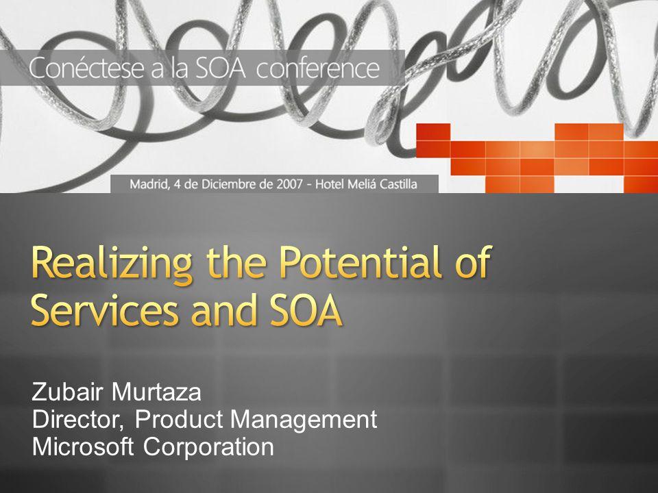 Zubair Murtaza Director, Product Management Microsoft Corporation