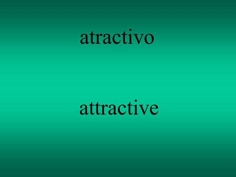 atractivo attractive