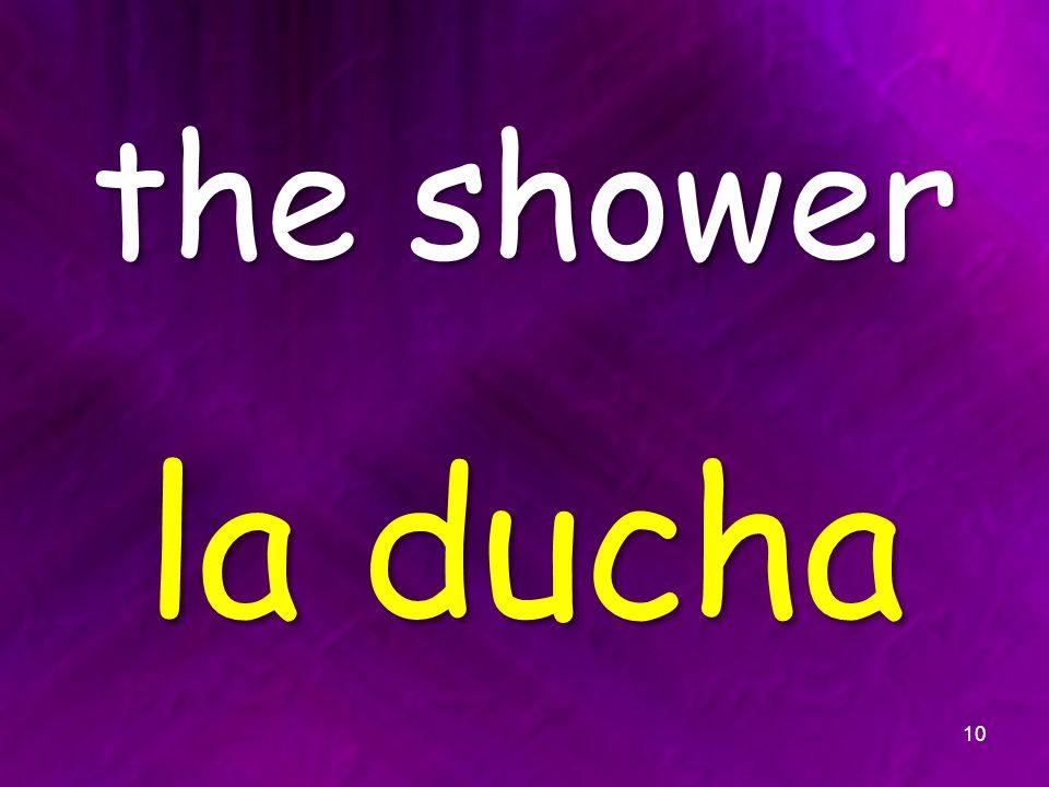 the shower la ducha 10