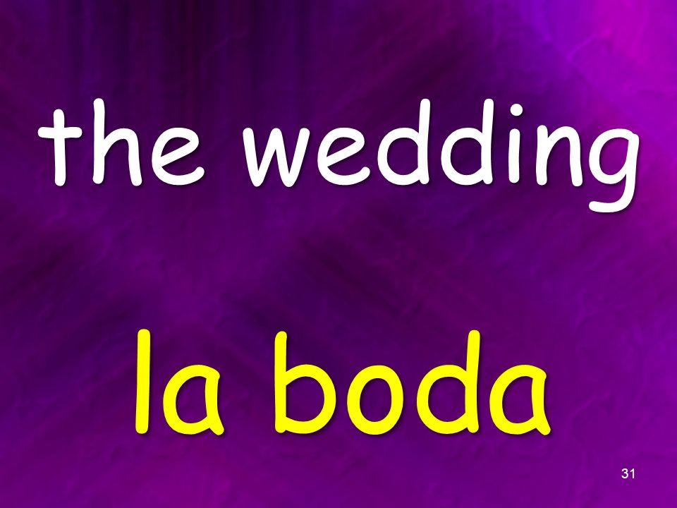 the wedding la boda 31