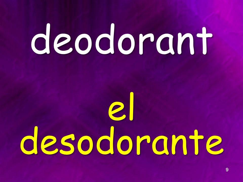 deodorant el desodorante 9