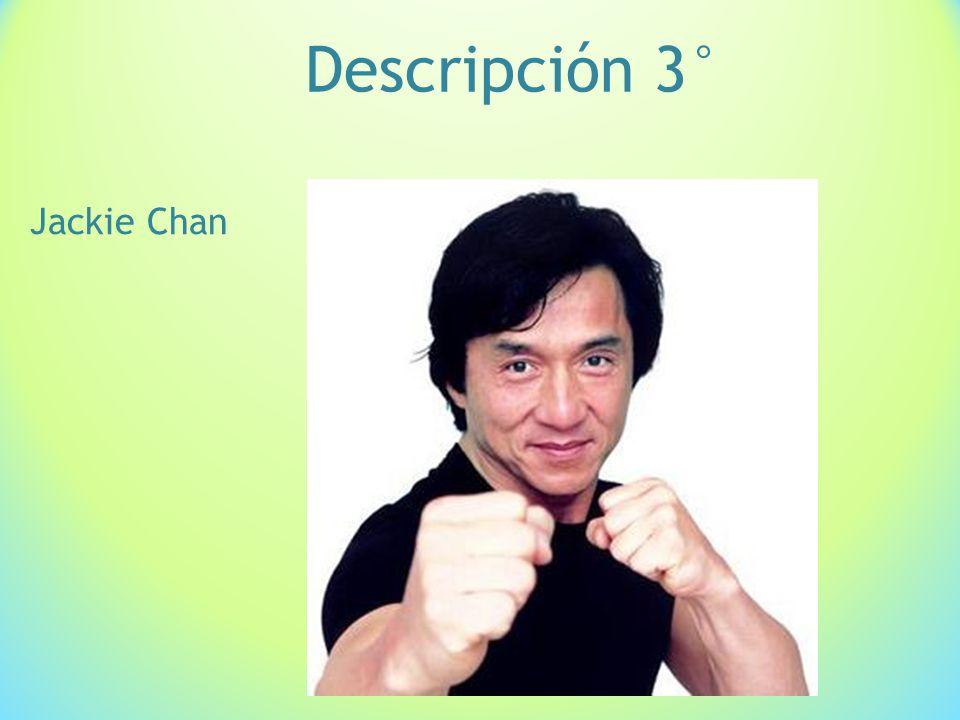Descripción 3° Jackie Chan