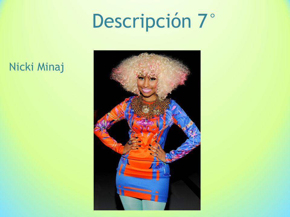 Descripción 7° Nicki Minaj