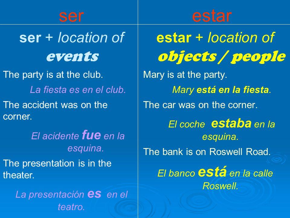 ser + de = origin Origin: Gabriel is from Chile.Gabriel es de Chile.