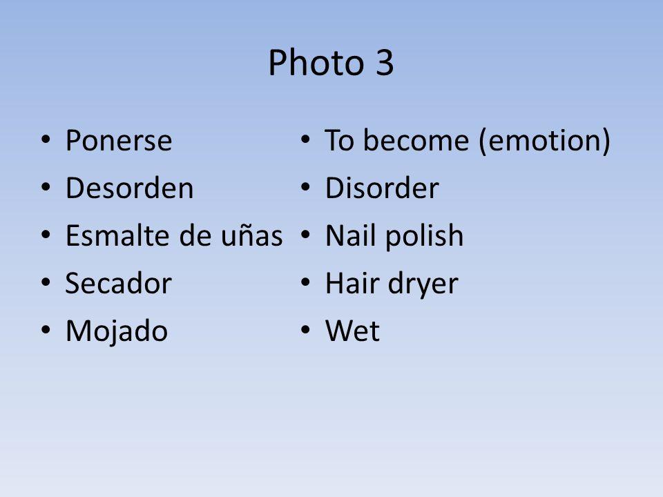 Photo 3 Ponerse Desorden Esmalte de uñas Secador Mojado To become (emotion) Disorder Nail polish Hair dryer Wet