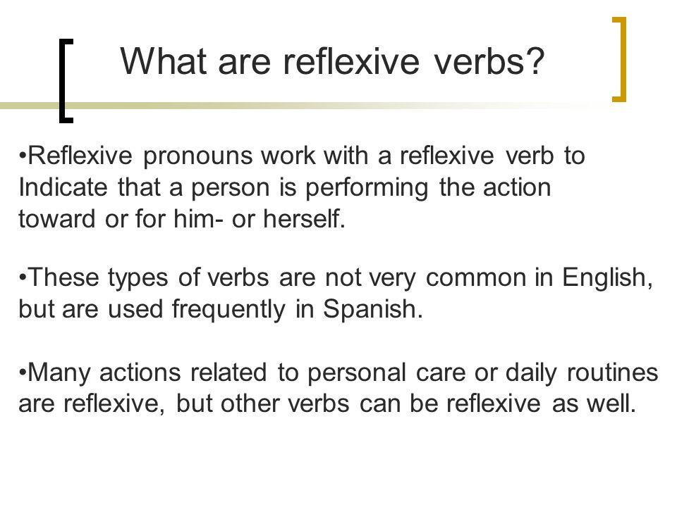 Page 18 Avancemos 3 – Lección Preliminar Reflexive Verbs
