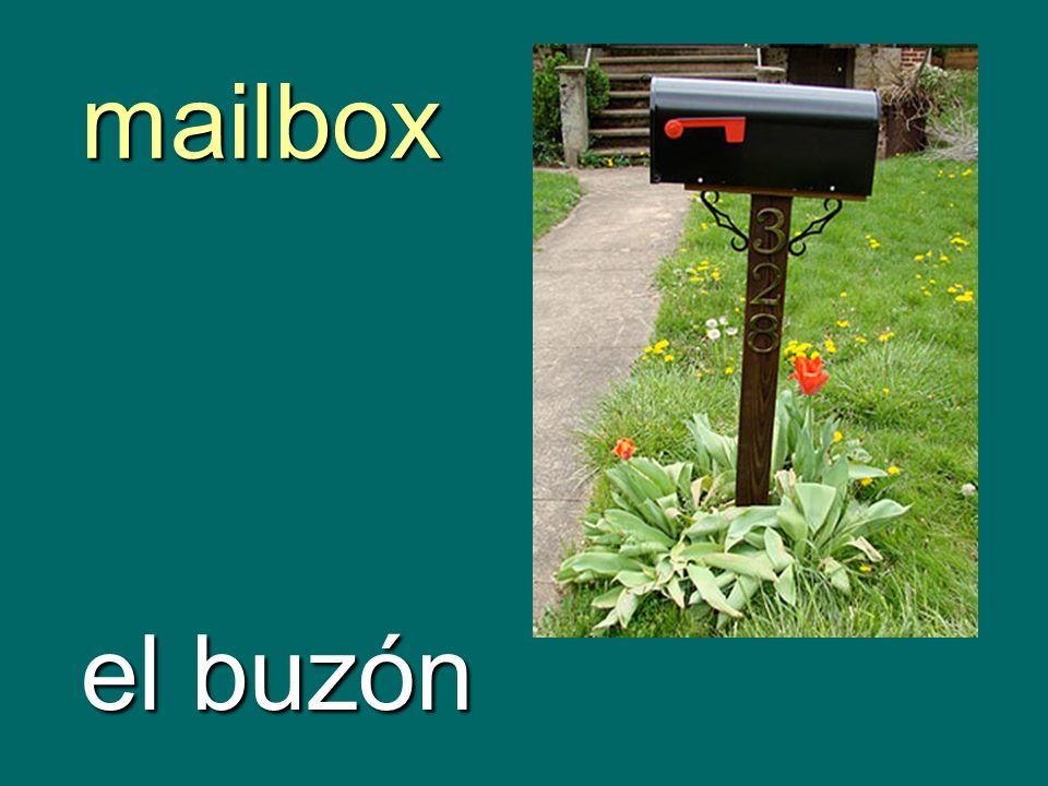 mailbox el buzón
