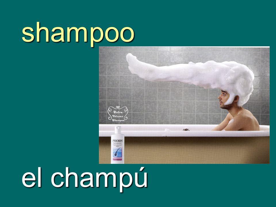 shampoo el champú