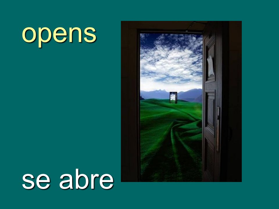 opens se abre
