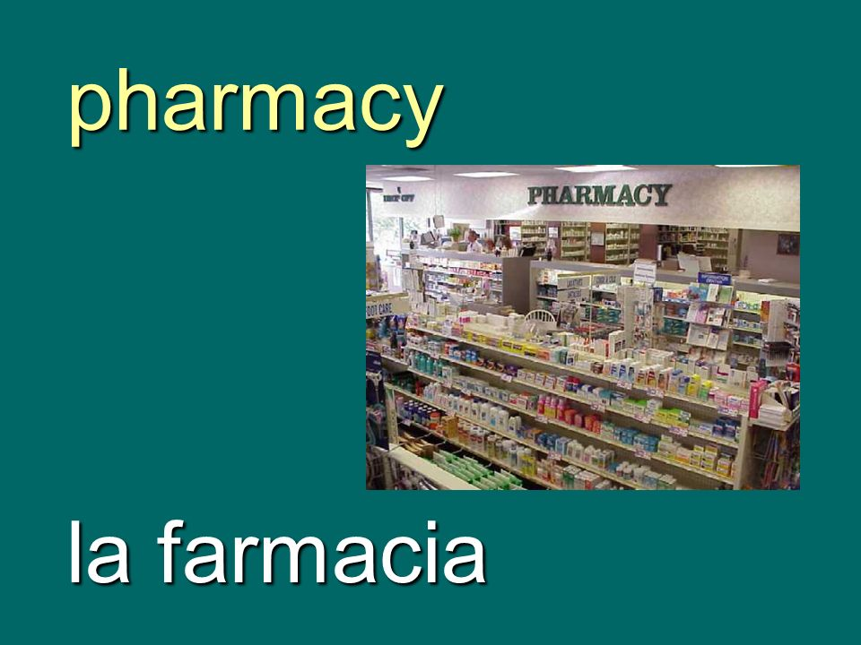 pharmacy la farmacia