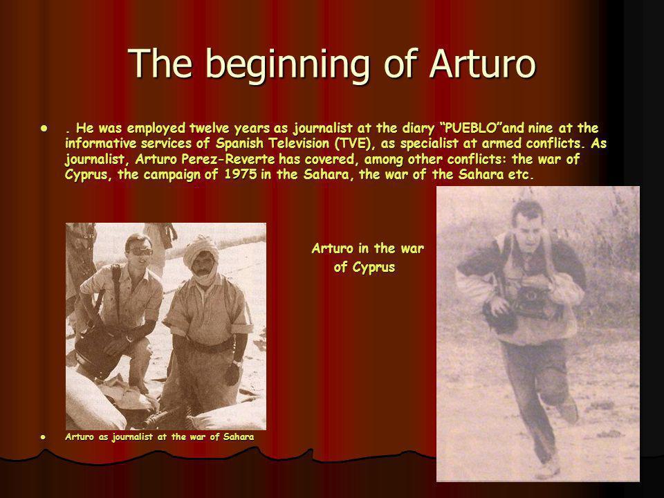 The beginning of Arturo.
